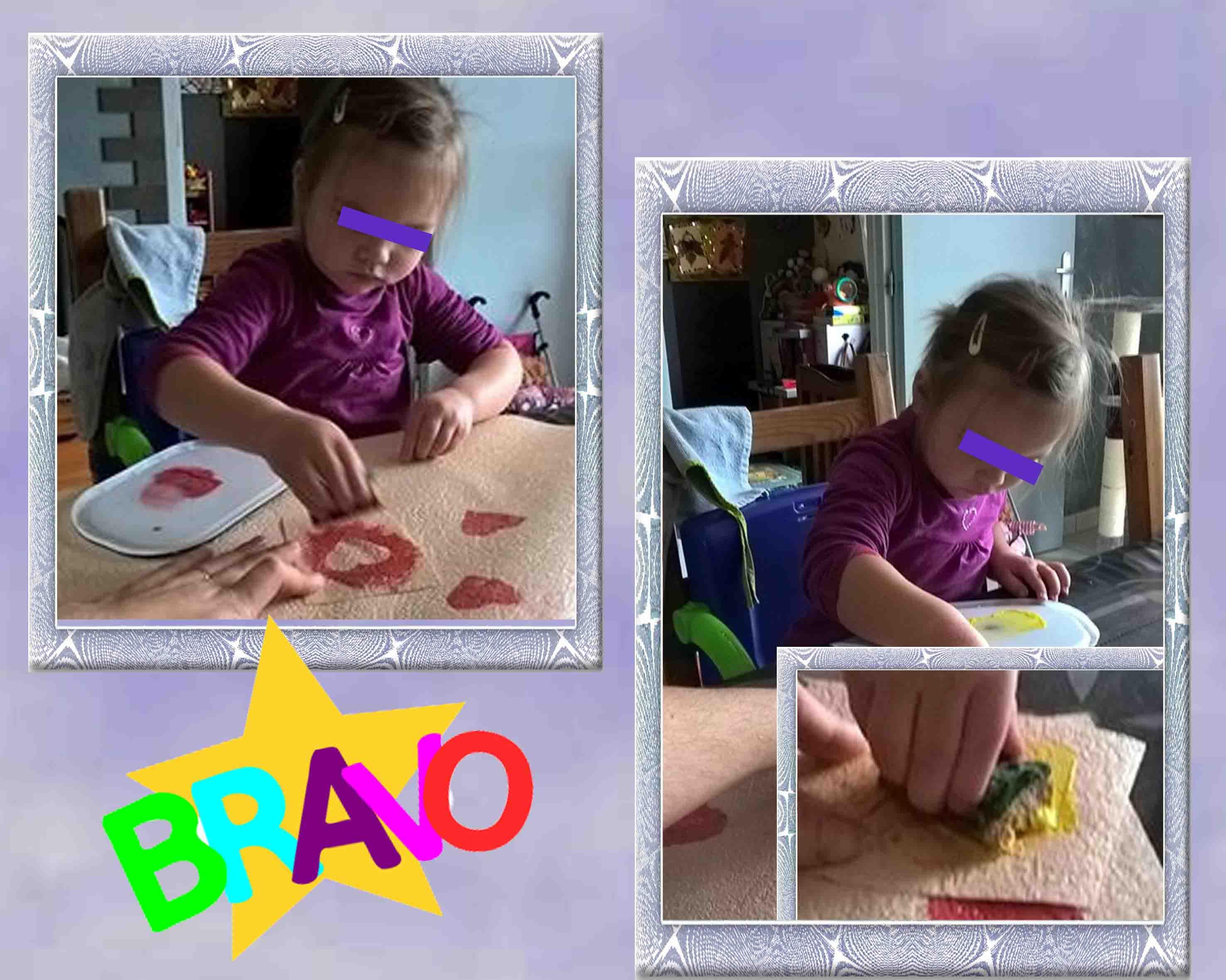 Techniques de peintures for Peindre a l eponge